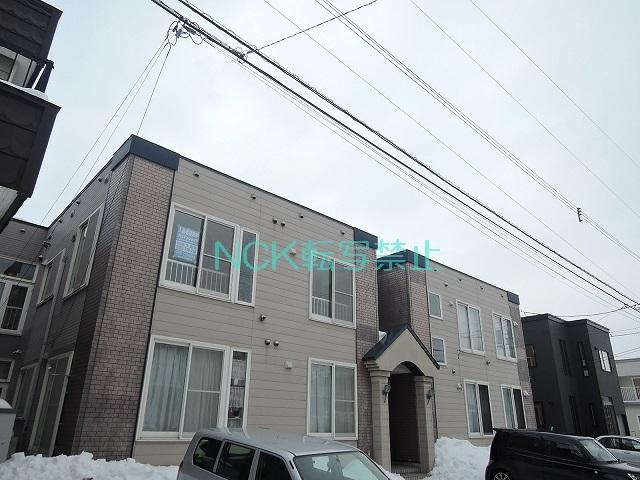 北海道札幌市北区、太平駅徒歩15分の築22年 2階建の賃貸アパート