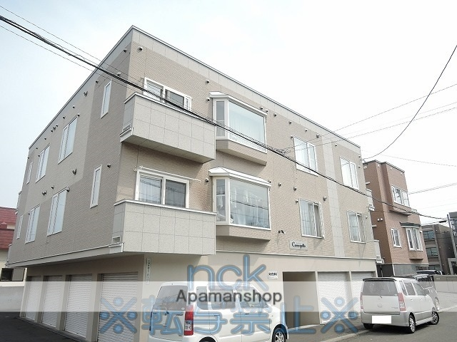 北海道札幌市東区、麻生駅徒歩17分の築12年 3階建の賃貸アパート