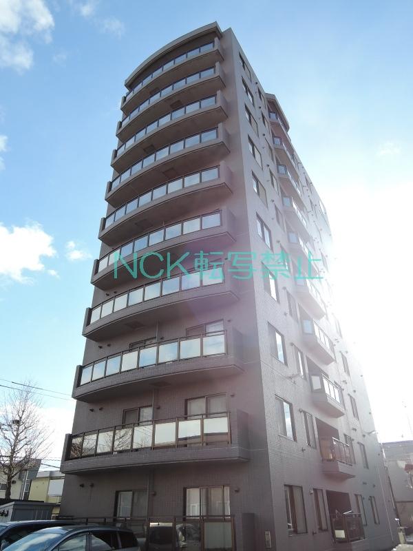北海道札幌市東区、栄町駅徒歩19分の築23年 10階建の賃貸マンション