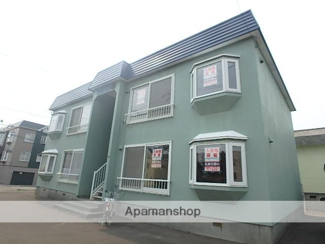 北海道札幌市北区、新川駅徒歩8分の築28年 2階建の賃貸アパート