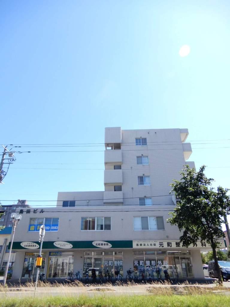 北海道札幌市東区、元町駅徒歩4分の築27年 6階建の賃貸マンション