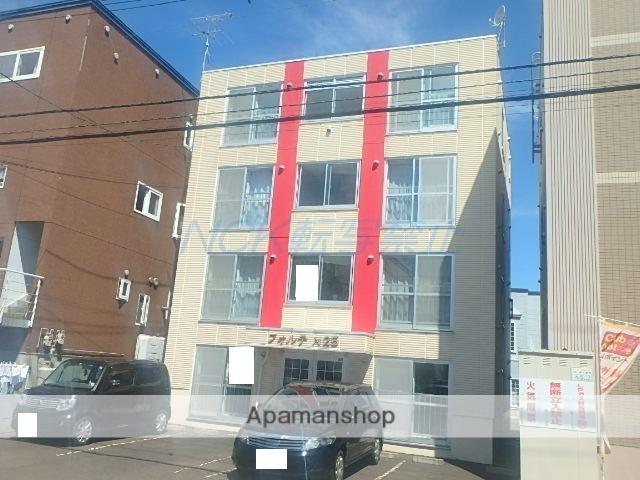 北海道札幌市東区、新道東駅徒歩19分の築27年 4階建の賃貸マンション