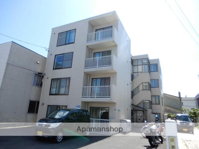 北海道札幌市東区、新道東駅徒歩12分の築27年 4階建の賃貸マンション