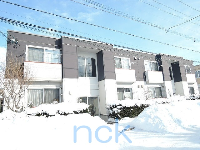 北海道札幌市北区、太平駅徒歩4分の築12年 2階建の賃貸アパート