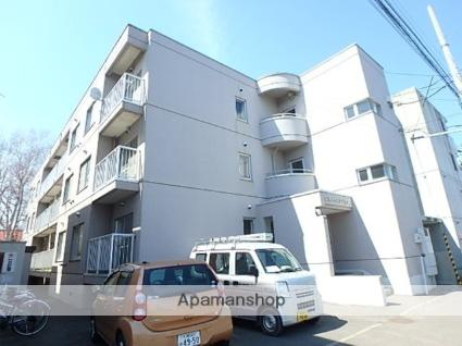 北海道札幌市北区、北24条駅徒歩14分の築27年 3階建の賃貸マンション