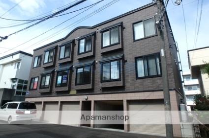 北海道札幌市西区、琴似駅徒歩15分の築10年 3階建の賃貸アパート