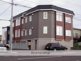 北海道札幌市北区、百合が原駅徒歩4分の築17年 3階建の賃貸アパート