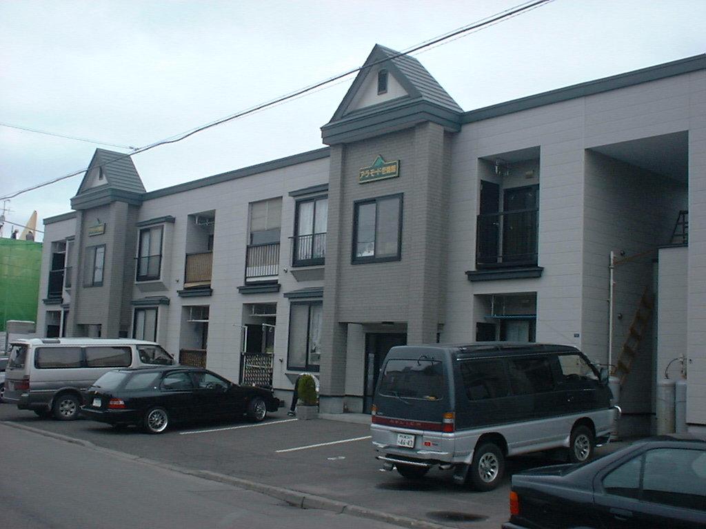 北海道札幌市東区、麻生駅徒歩13分の築18年 2階建の賃貸アパート
