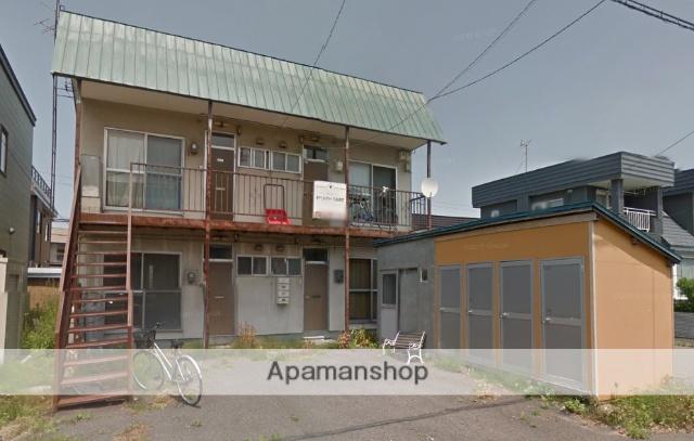 北海道札幌市北区、百合が原駅徒歩16分の築40年 2階建の賃貸アパート