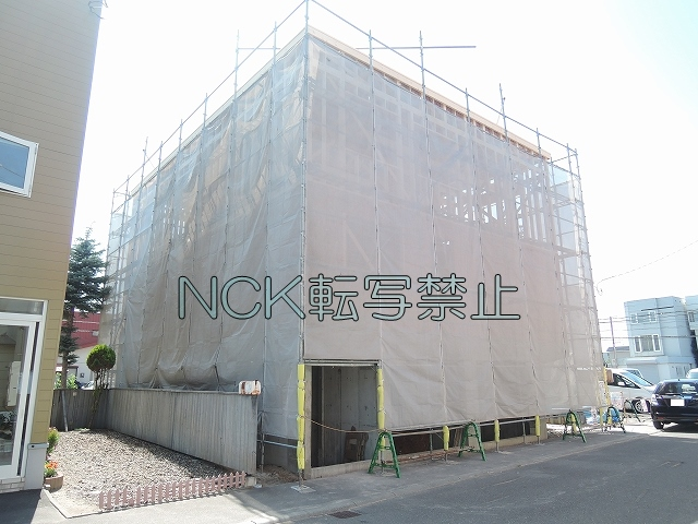 北海道札幌市東区、太平駅徒歩12分の新築 3階建の賃貸アパート