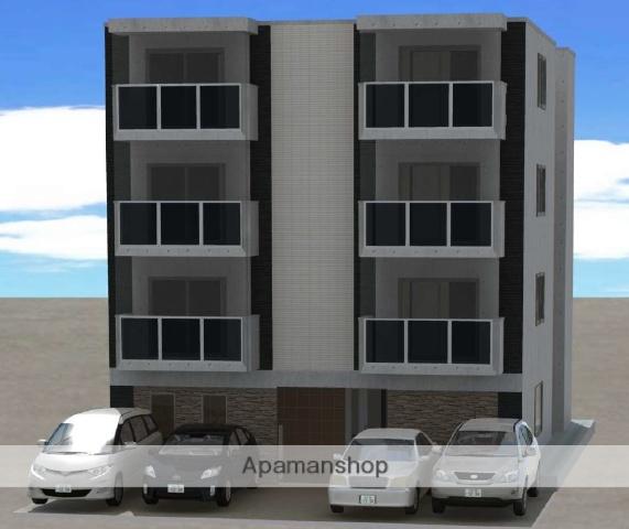 北海道札幌市豊平区、白石駅徒歩15分の新築 4階建の賃貸マンション
