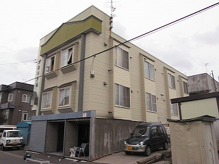 北海道札幌市北区、太平駅徒歩18分の築26年 2階建の賃貸アパート