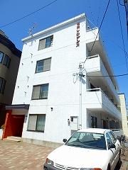 北海道札幌市東区、環状通東駅徒歩4分の築28年 4階建の賃貸マンション