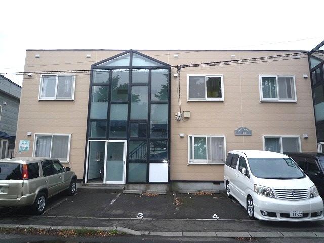 北海道札幌市東区、元町駅徒歩13分の築25年 2階建の賃貸アパート