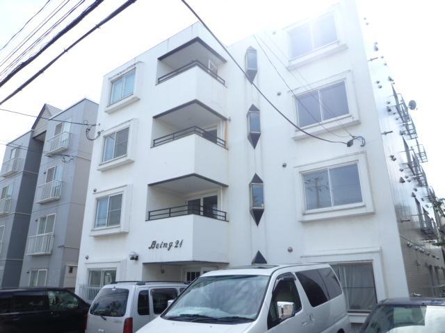北海道札幌市東区、元町駅徒歩8分の築27年 4階建の賃貸マンション