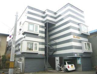 北海道札幌市北区、新川駅徒歩16分の築29年 3階建の賃貸アパート