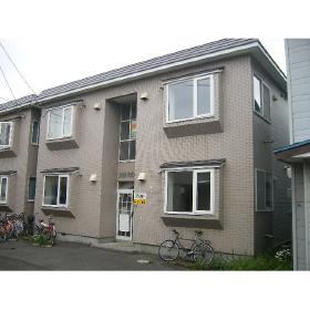 北海道札幌市東区、北34条駅徒歩9分の築25年 2階建の賃貸アパート