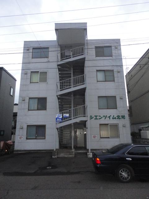 北海道札幌市東区、環状通東駅徒歩11分の築26年 4階建の賃貸マンション