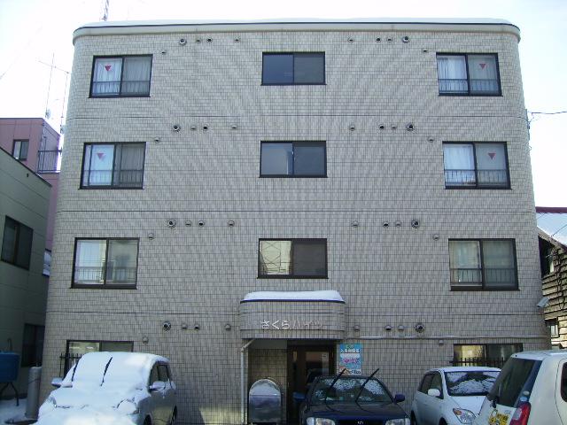 北海道札幌市北区、北18条駅徒歩5分の築14年 4階建の賃貸マンション