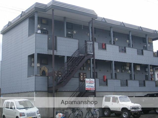 北海道札幌市北区、百合が原駅徒歩12分の築25年 2階建の賃貸アパート