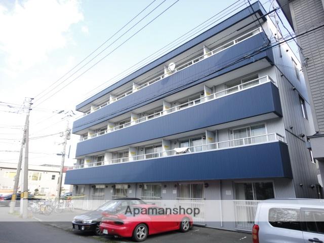 北海道札幌市東区、環状通東駅徒歩8分の築28年 4階建の賃貸マンション