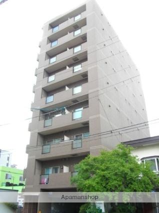 北海道札幌市北区、北24条駅徒歩12分の築18年 9階建の賃貸マンション
