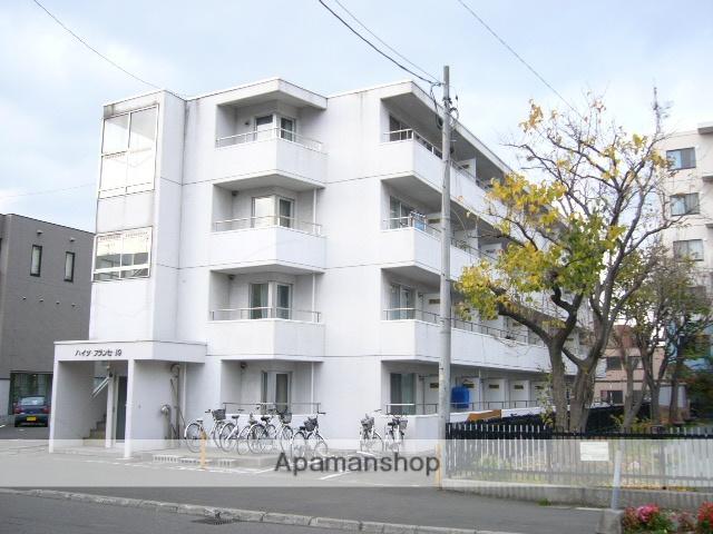北海道札幌市北区、北24条駅徒歩9分の築30年 4階建の賃貸マンション