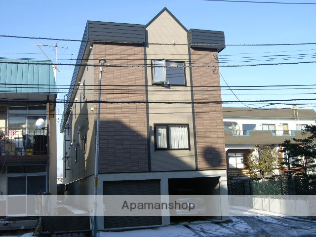 北海道札幌市東区、北34条駅徒歩8分の築13年 3階建の賃貸アパート