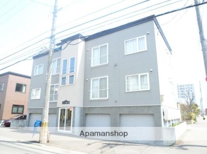 北海道札幌市中央区、西線16条駅徒歩3分の築15年 3階建の賃貸アパート