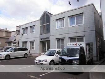 北海道札幌市北区、新琴似駅徒歩8分の築24年 2階建の賃貸アパート