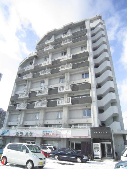 北海道札幌市北区、麻生駅徒歩10分の築25年 12階建の賃貸マンション