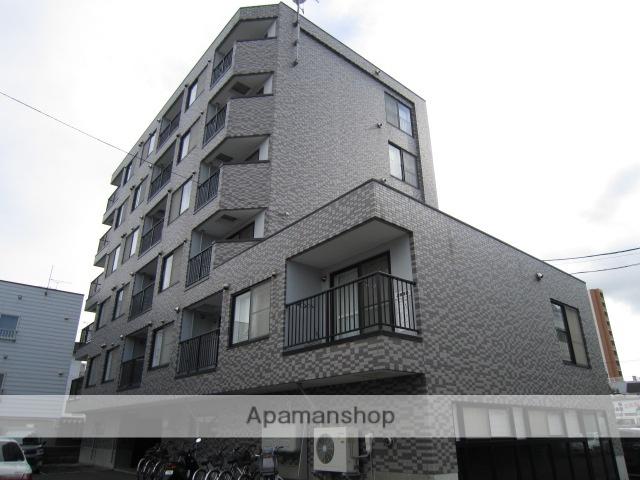 北海道札幌市北区、麻生駅徒歩14分の築20年 6階建の賃貸マンション