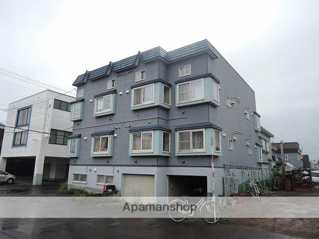 北海道札幌市東区、百合が原駅徒歩20分の築26年 2階建の賃貸アパート