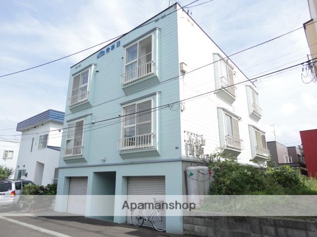 北海道札幌市西区、発寒中央駅徒歩14分の築29年 3階建の賃貸アパート