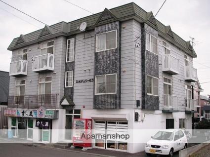 北海道札幌市手稲区、稲積公園駅徒歩14分の築28年 3階建の賃貸アパート