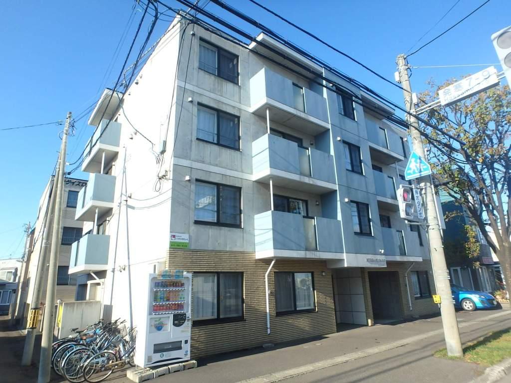 北海道札幌市西区、発寒中央駅徒歩13分の築9年 4階建の賃貸マンション