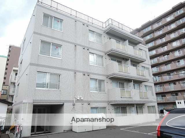 北海道札幌市西区、発寒駅徒歩10分の築14年 4階建の賃貸マンション