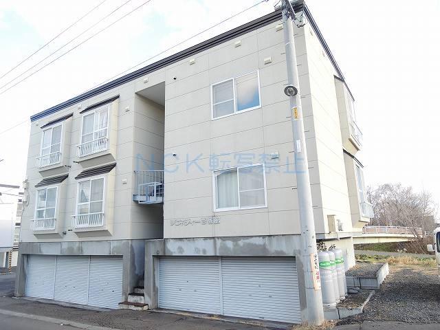 北海道札幌市手稲区、手稲駅徒歩16分の築22年 2階建の賃貸アパート