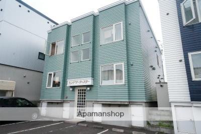北海道札幌市手稲区、星置駅徒歩3分の築18年 2階建の賃貸アパート