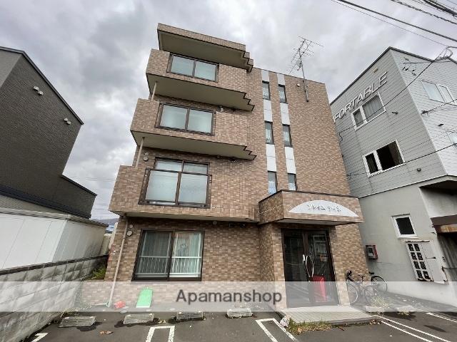北海道札幌市手稲区、稲積公園駅徒歩15分の築11年 4階建の賃貸マンション