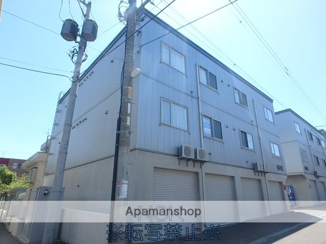 北海道札幌市西区、発寒駅徒歩14分の築9年 3階建の賃貸アパート