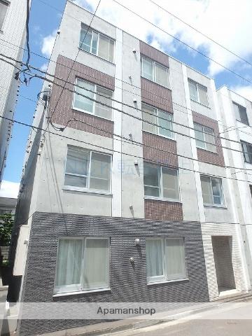 北海道札幌市西区、琴似駅徒歩2分の築3年 4階建の賃貸マンション