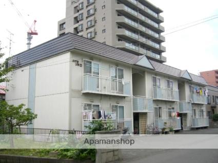 北海道札幌市西区、琴似駅徒歩12分の築27年 2階建の賃貸アパート