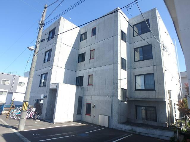 北海道札幌市西区、発寒中央駅徒歩16分の築12年 4階建の賃貸マンション
