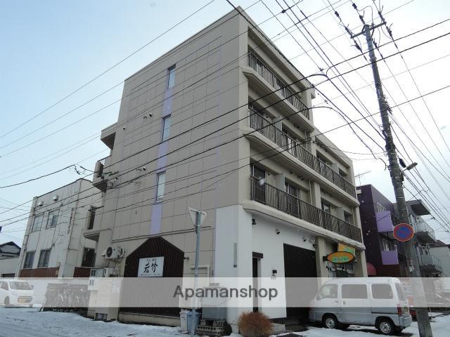 北海道札幌市中央区、西28丁目駅徒歩16分の築30年 4階建の賃貸マンション