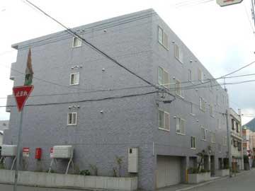 北海道札幌市西区、琴似駅徒歩19分の築22年 4階建の賃貸マンション