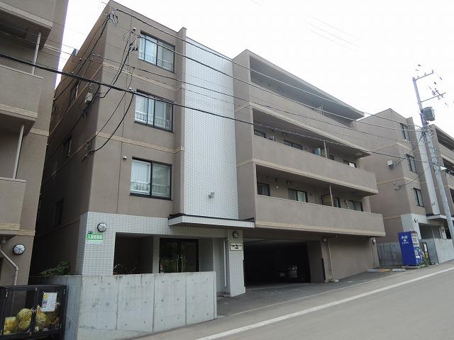北海道札幌市西区、琴似駅JRバスバス29分宮の沢3条5丁目下車後徒歩2分の築9年 4階建の賃貸マンション