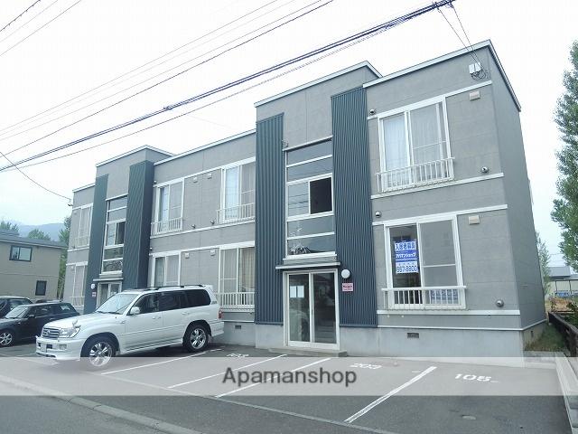 北海道札幌市西区、発寒駅徒歩10分の築17年 2階建の賃貸アパート