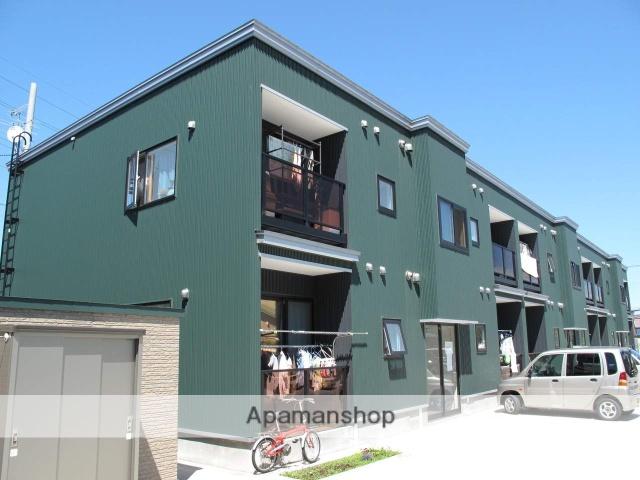 北海道札幌市手稲区、ほしみ駅徒歩17分の築8年 2階建の賃貸アパート