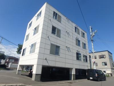 北海道札幌市西区、発寒駅徒歩17分の築20年 4階建の賃貸マンション